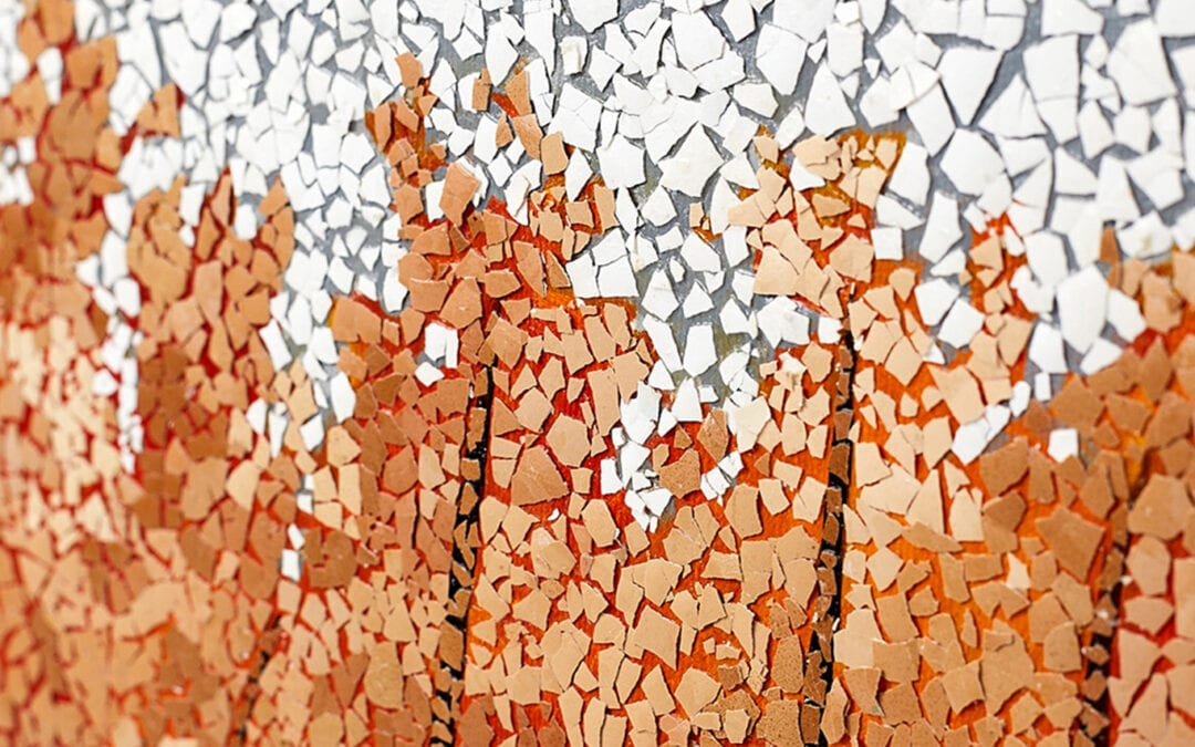 Ustvarite svoje mozaike iz jajčnih lupin