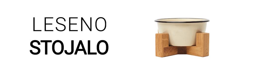 Leseno stojalo za domače ljubljencke